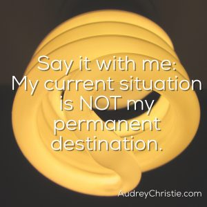 This is NOT Your Permanent Destination