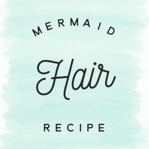 Mermaid Hair Treatment Essential Oil Recipe