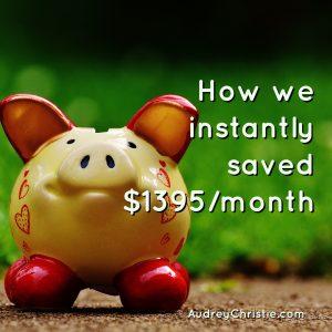 Mustachian Progress: Month 1 Savings $1,395 a Month